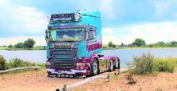Scania Str. HL 6x2 Zugmaschine 1:50