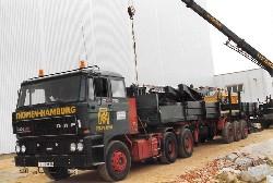 DAF 3300 6X4 FLATBED TRAILER   CLA 1:50