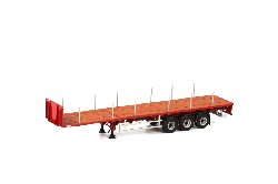 FLATBED TRAILER - 3 AXLE-; 1:50