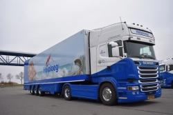 Scania StreamlinTL mit Kühlkoffer  1:50