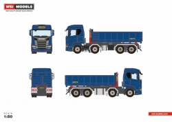 Scania R Normal 8x4 Abrollbehälter 1:50